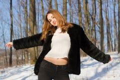 Moda dla zimnych dni obraz stock
