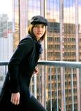 Moda en negro Fotografía de archivo libre de regalías