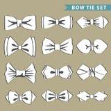 Moda fijada con la corbata de lazo Foto de archivo