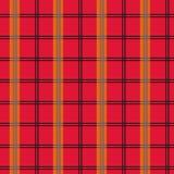 Moda inconsútil del modelo de la tela escocesa de tartán de moda Imagenes de archivo