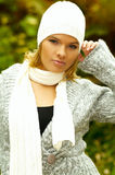 moda jesienią Zdjęcie Royalty Free