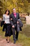 moda jesienią Fotografia Stock