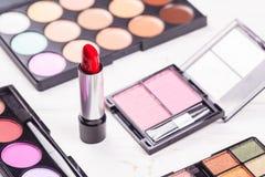Moda kosmetyka set obraz stock