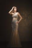 Moda krótkopęd piękna kobieta styl retro Zdjęcia Stock