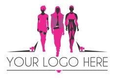 Moda logo Zdjęcia Royalty Free