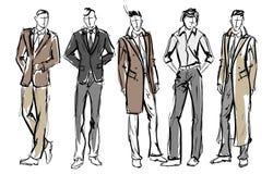 moda mężczyzna Set modny mężczyzna ` s ilustracji