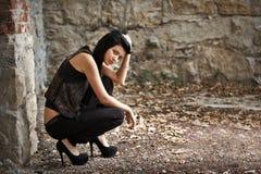 Moda młody model Zdjęcie Stock