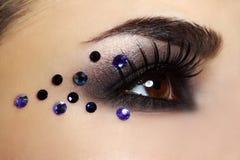 moda makijaż Fotografia Stock