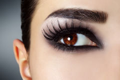 moda makijaż Zdjęcia Royalty Free