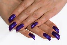 Moda manicure Obrazy Royalty Free