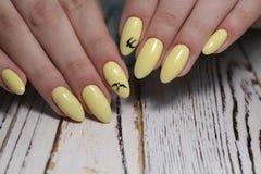 moda manicure gwo?dzie fotografia royalty free