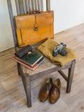 Moda masculina del paño del vintage Fotos de archivo libres de regalías