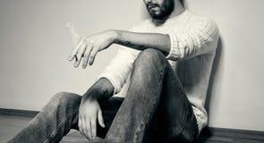 Moda mężczyzna zbliżenie Zdjęcie Royalty Free