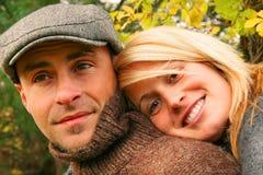 młoda miłość pary Zdjęcia Stock