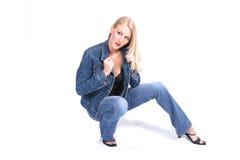 moda model Zdjęcie Royalty Free