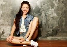 Moda model, moda, nastoletnia dziewczyna Zdjęcie Stock