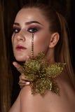 Moda modela dziewczyna Wakacyjna kobieta zdjęcia stock