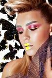 Moda modela dziewczyna Wakacyjna kobieta zdjęcia royalty free