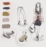 moda modna Obraz Stock