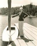 Moda náutica fotografía de archivo libre de regalías