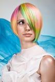 Moda no cabelo Foto de Stock Royalty Free