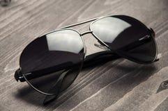 Moda okulary przeciwsłoneczni dla mężczyzna Zdjęcie Royalty Free