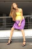 moda piękny model Zdjęcia Royalty Free