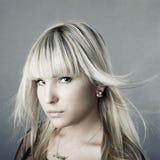 moda portret Zdjęcie Stock