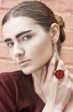 moda portret kobiety Zdjęcia Royalty Free