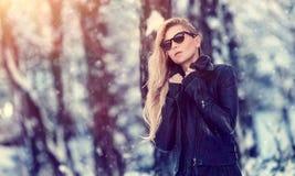 moda portret kobiety Zdjęcie Royalty Free