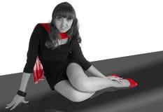 Moda portret Piękna Seksowna dziewczyna Zdjęcie Stock