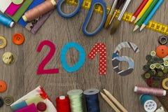 Moda projekt - nowy rok 2016 Zdjęcie Stock