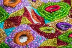 Moda projekta elementy na tkaninie Obrazy Stock