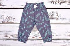 Moda projekta spodnia dla dzieciaków Obrazy Royalty Free