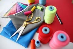 Moda Projektuje Krawieckiego Craftsmanship poj?cie zdjęcie stock