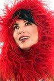 Moda rossa fotografie stock