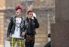 moda ruch punków Obraz Stock