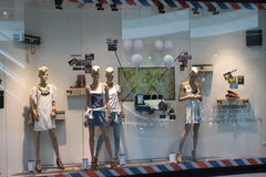 Moda sklep Obrazy Stock