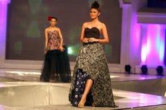Moda a solas del batik Imagen de archivo