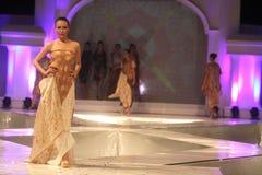 Moda a solas del batik Foto de archivo libre de regalías