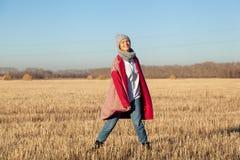 Moda stylu życia portret zdjęcia royalty free