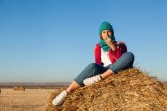 Moda stylu życia portret zdjęcie royalty free