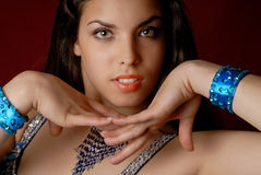 moda tancerkę brzucha Obraz Stock