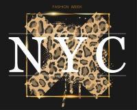 Moda tydzie? w Nowy Jork na tle ilustracja wektor