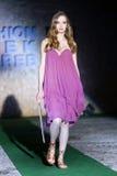 Moda tydzień Zagreb: Tajny ogród Afrodita, Zagreb, Chorwacja Obraz Royalty Free