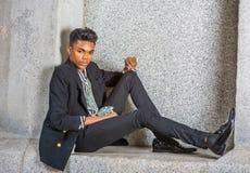 Moda urbana del adolescente Foto de archivo libre de regalías