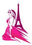 Moda w France Obrazy Royalty Free