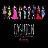 Moda zakupy Fotografia Stock