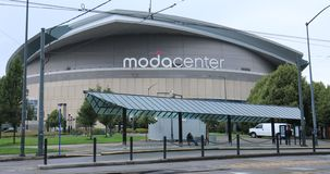 ModaCenter Arena in Portland, Oregon royalty free stock images