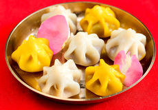Modak doce indiano Foto de Stock Royalty Free